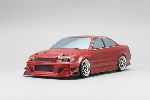 Yokomo Goodyear Racing with Kunnyz JZX100 Chaser Body Set No Decals