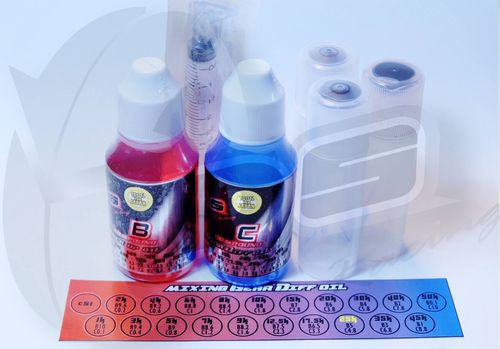 DS Racing  Mixing Gear Diff Oil Complete Set