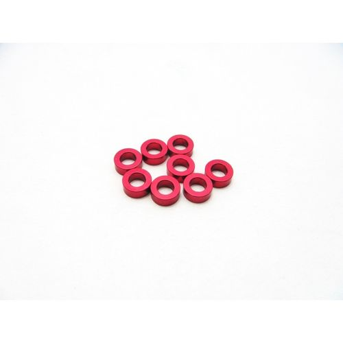 Hiro Seiko 3mm Alloy Spacer Set (2.0mm) [Red]