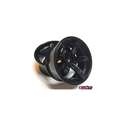 Topline N Model ver.3 Super High Traction Type Black Offset 7 / Wheel width 27mm ( 2 pics )